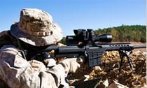 "Barrett Model 98B .338 Lapua Magnum, 27"" Fluted Barrel W/Bipod & Monopod#2"