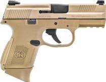 "FN FNS-9C 9mm Compact 3.6"" Barrel Full Flat Dark Earth Finish 12rd Mag"