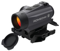 Sig Romeo4h RED DOT Sight Ballistic Circle DOT 0.5 MOA ADJ Side Battery Torx AND QR Mounts Graphite