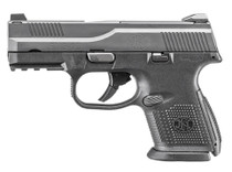 """FN FNS-9C Compact 9mm 3.6"""" Barrel Battle Gray Finish 1 17rd & 1 12rd Mag"""
