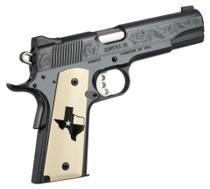 Kimber Royal II Texas Limited Edition 45ACP High Polished Deep Blue Bonded Ivory Grips