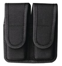Bianchi 7302 Double Magazine Pouch Velcro Closure Size 2 Black
