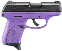 """Ruger LC9S Bl/Purple Special Edition, 9MM, 3"""" Barrel, 7 Rd Mag"""