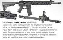 """Ruger SR556 Takedown Rifle 223/5.56, 16"""" Barrel Flip Sights, 30 Rd Mag"""