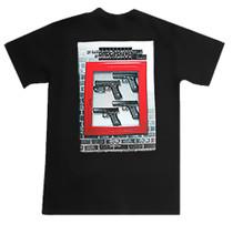 Glock In Case of Emergency T-Shirt Medium Cotton Gray Short Sleeve