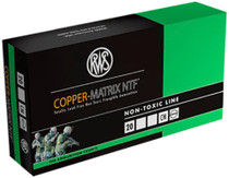 RWS Copper Matrix 223 Remington/5.56 NATO 37 GR Non-Toxic 20 Bx/ Cs