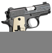 Kimber Micro 9 Texas Limited Edition 9mm High Polished Deep Blue Bonded Ivory Grips