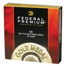 Federal Premium Gold Medal Match Small Magnum Pistol Primers, 1000/Pack (10 Boxes of 100 Primers)
