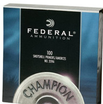 Federal Primers Shotgun Standard, 1000/Pack (10 Boxes of 100 Primers)