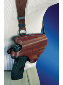 Bianchi X16 Agent X Shoulder Holster System 1911 Style 10mm/.45 Size 8 Plain Tan Right Hand