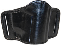 Bianchi 105 Minimalist Belt Slide Holster Beretta/Smith & Wesson/Sig 9mm/.45 Size 13/15 Plain Black Right Hand