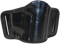 Bianchi 105 Minimalist Belt Slide Holster Bersa/Kimber/Para/S&W 9mm/.45 Size 14 Plain Black Right Hand