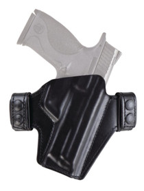 Bianchi 125 Allusion Series Consent Open-Top Holster Size14 for Colt 1911 Government Black Right Hand