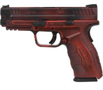 "Springfield XD Mod.2 9mm 4"", Battleworn Red/Black, 16rd"