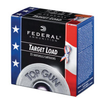 """Federal Top Gun 12 Ga. 2.75"""". 1200 FPS. 1.125oz. 8 Shot. Wounded Warrior Project, 250rd/Case"""