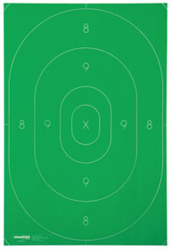 Champion Targets Law Enforcement LE B27C Silhouette Repair Centers 12.5x18.5 Inches Green 100 Pack
