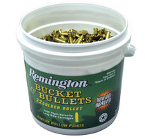 Remington 22LR 36gr HV Bucket Plated Hollow Point 5600rd/Case (4 Buckets of 1,400rd)