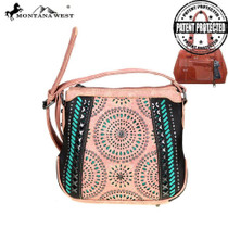 Montana West Concealed Handgun Collection Crossbody, Coffee