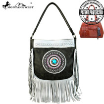 Montana West Tribal Collection Concealed Handgun Hobo, Gray