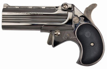 "Cobra Long Bore 9mm, 3.5"", Chrome Finish, Black Grips, 2rd"