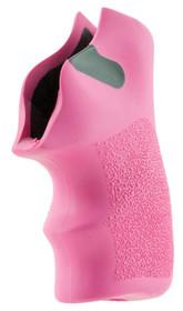 Hogue Tamer Pistol Grip Ruger LCR Textured Rubber Pink