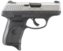 """Ruger LC9s Standard Double 9mm 3.12"""" 7+1 Black Polymer Grip/Frame Gr"""