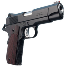 "Ed Brown Kobra Carry Lightweight Single 9mm Luger 4.25"" 8+1 FOF Laminate Wood Grip Black Gen4 Stainless Steel"
