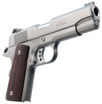 "Ed Brown CCO Single 45 Automatic Colt Pistol (ACP) 4.25"" 7+1 FOF Black VZ Grip Stainless Steel"