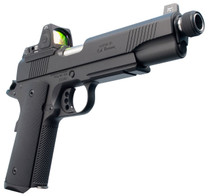 "Ed Brown Special Forces SR Single 45ACP 5"" TB 7+1 NS/Red Dot Black Polymer Grip Black Gen4"