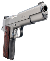 "Ed Brown Executive Elite Single 45 Automatic Colt Pistol (ACP) 5"" 7+1 Black VZ Grip Stainless Steel"