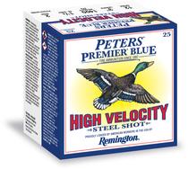 "Peters Premier Blue High Velocity Steel 12g 3"" Sheels BB Box of 25"