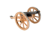 "Traditions Mini Napolean III Cannon Breech 50 Black Powder, 7.25"" A1264 Fuse"
