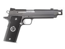 "Coonan Compensated 357 Mag, 5.7"", Black Ionbond Stainless, Fixed Black Sights, Black Alum Grips, 1 Mag (Special Order)"