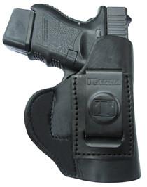 Tagua Super Soft Inside The Pant Glock 26/27/33 Saddle Leather Black