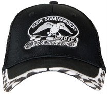 Duck Commander Logo Hat Mesh Black One Size Cotton/Poly