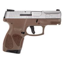 "Taurus G2C 9mm 3.25"" Barrel Polymer Grip Brown Grip 12rd Mag"