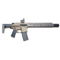"Q Honey Badger SBR, 300 Blackout, 7"" Barrel, Flat Dark Earth, MLOK Suppressor Included, 30rd Mag- NFA Rules Apply"
