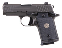 "Sig P938 Legion Compact 9MM 3"" Barrel, G10 Grips, Night Sights, Gray Finish, 7Rd, 3 Mags"
