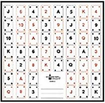 Looper Law Enforcement Playing Card Target #1 100/Package