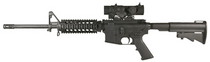 ELCAN Specter DR 1x/4x Sight CX5395 Illuminated Crosshair Reticle 5.56mm W/ARMS Mount