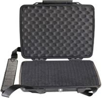 Pelican HardBack Case w/Removable Shoulder Strap ABS Polymer Black