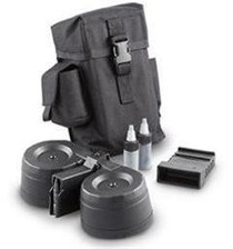 PWA AR-15 100 Round Drum Magazine Kit, Black