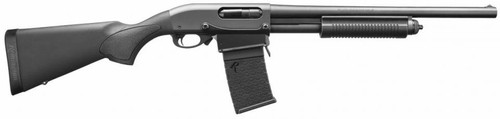 "Remington 870 DM 12 GA, 18.5"" Barrell, Black, 6 Rnd Detachable Mag"