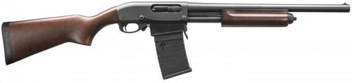 "Remington 870 DM Hardwood 12 GA, 18.5"" Barrel W/Detachable Magazine"