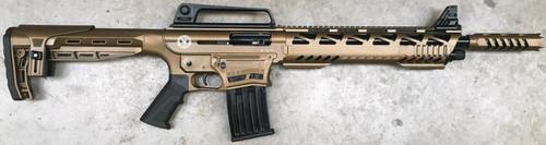 TR Imports SE122 Tactical Cerakote 12 Ga, Door-Buster Brake, Quad Rail, 2X5rd Mags