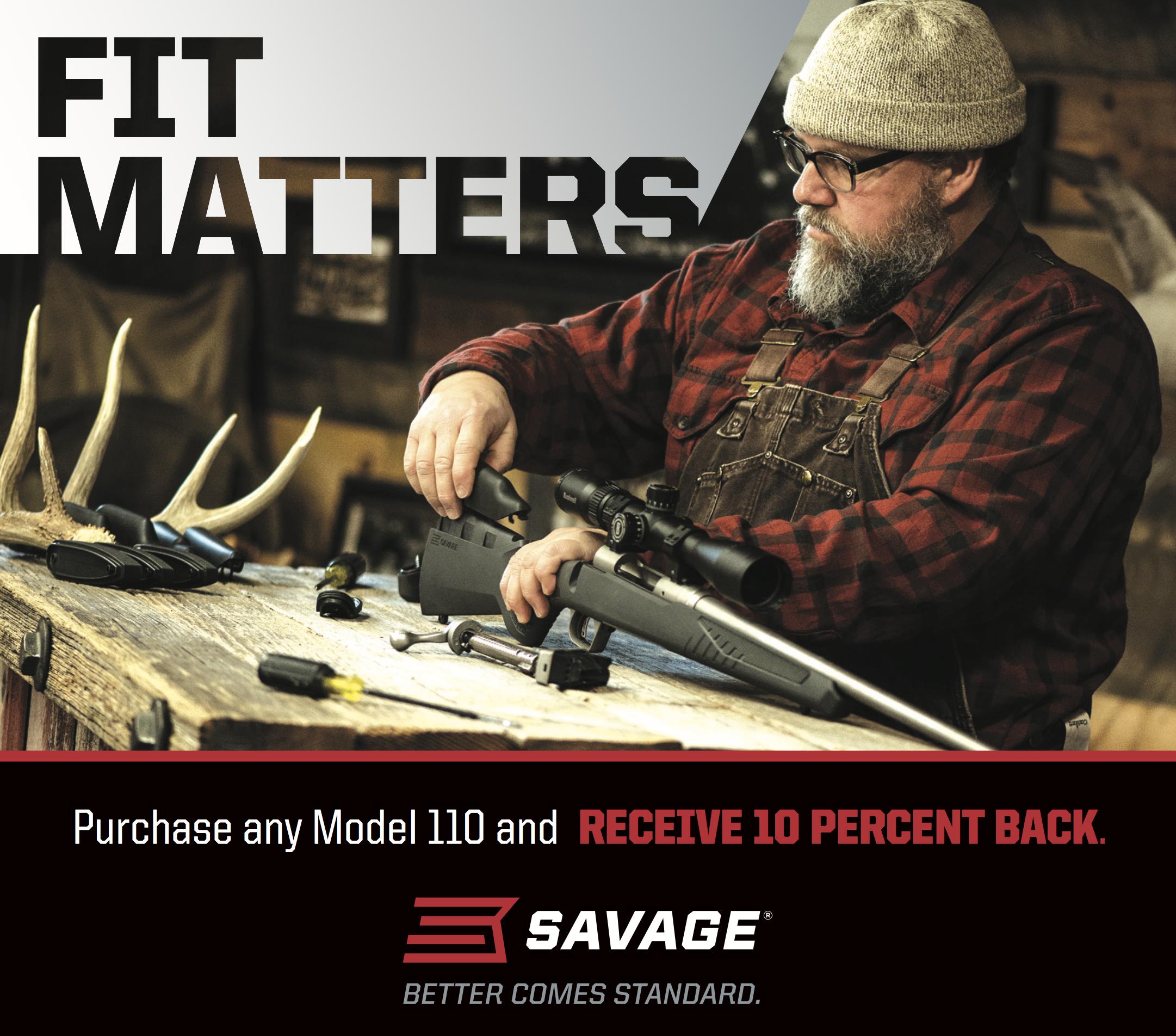 Savage 110 Rebate