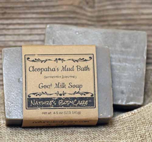 Cleopatra's Mud Bath Goat Milk Soap