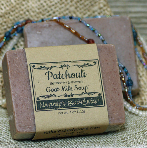 Patchouli Oil Goat Milk Soap