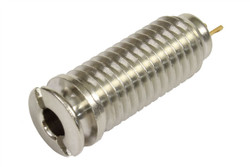 Switchcraft Screw-In Endpin acoustic output jack - Nickel