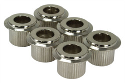 10mm Conversion Bushings with large flange - Nickel